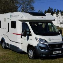 Small image of Pitlochry Motorhome Hire, 4 Berth holiday cottage in Scotland