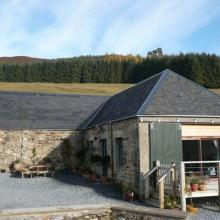 Small image of The Cow Shed at Lettoch holiday cottage in Scotland