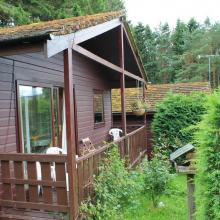 Small image of Dunedin Log Cabin, Old Faskally Lodges holiday cottage in Scotland