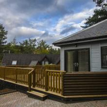 Small image of Printemps Lodge, Parc Royale, River Tilt holiday cottage in Scotland