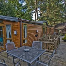 Small image of L`Oasis Lodge, River Tilt Leisure Park, Blair Atholl holiday cottage in Scotland