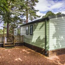 Small image of The Pines, The Secret Garden, River Tilt Leisure Park holiday cottage in Scotland