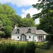 Small image of The White Cottage, Urrard Estate holiday cottage in Sctotland