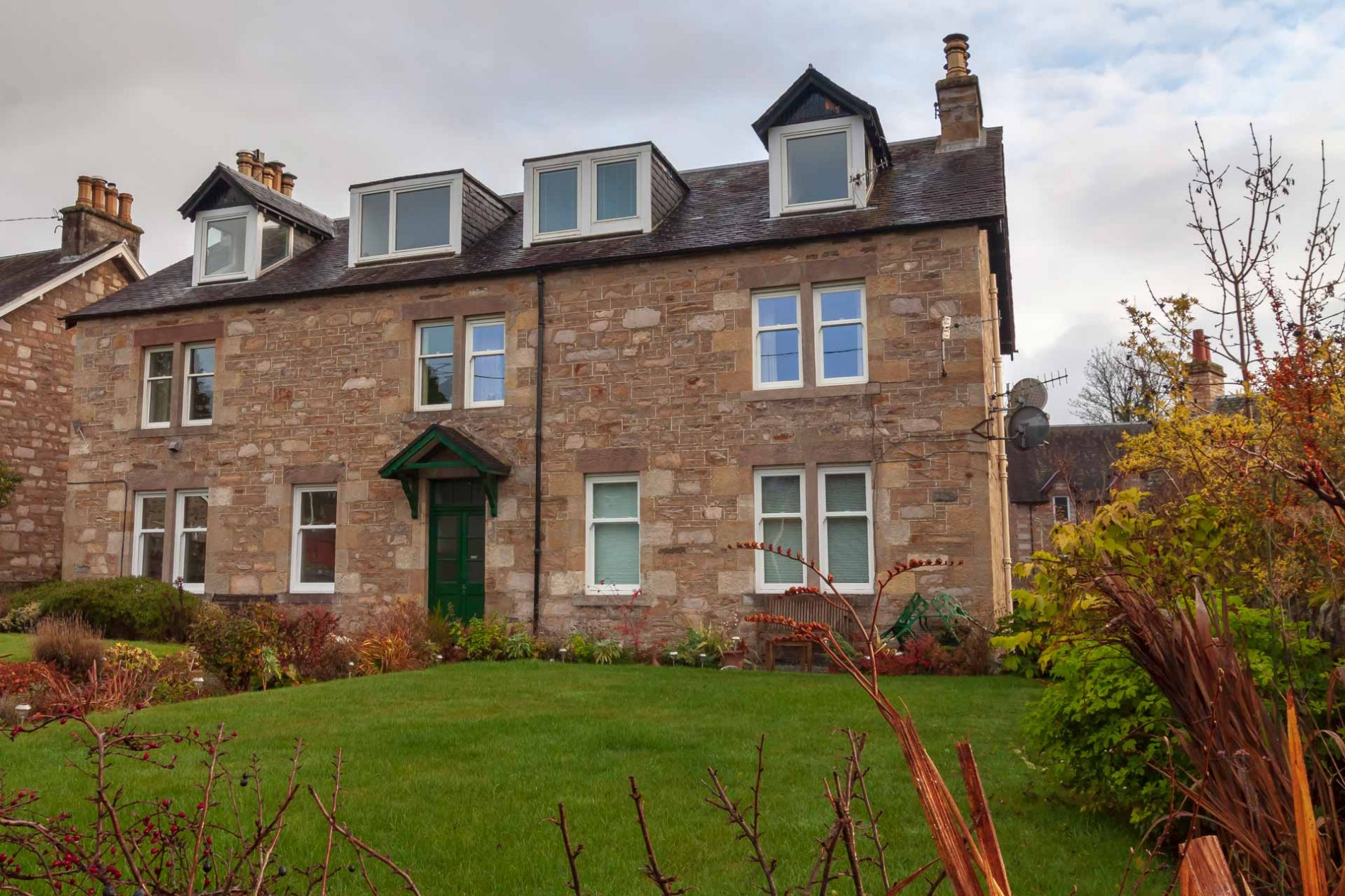 The Loft holiday cottage in Pitlochry