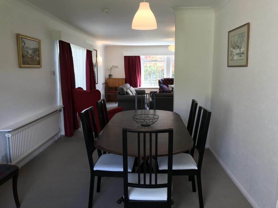 Dining room in Vrackie View
